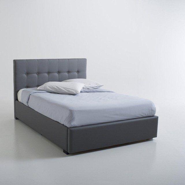 Lit Tiroir De Rangement Tête De Lit Numa La Redoute Interieurs - Tete de lit tiroir
