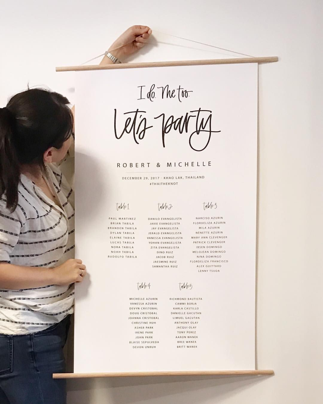 Seating chart  like the wording not sure what best format would be for tables however also rh pinterest