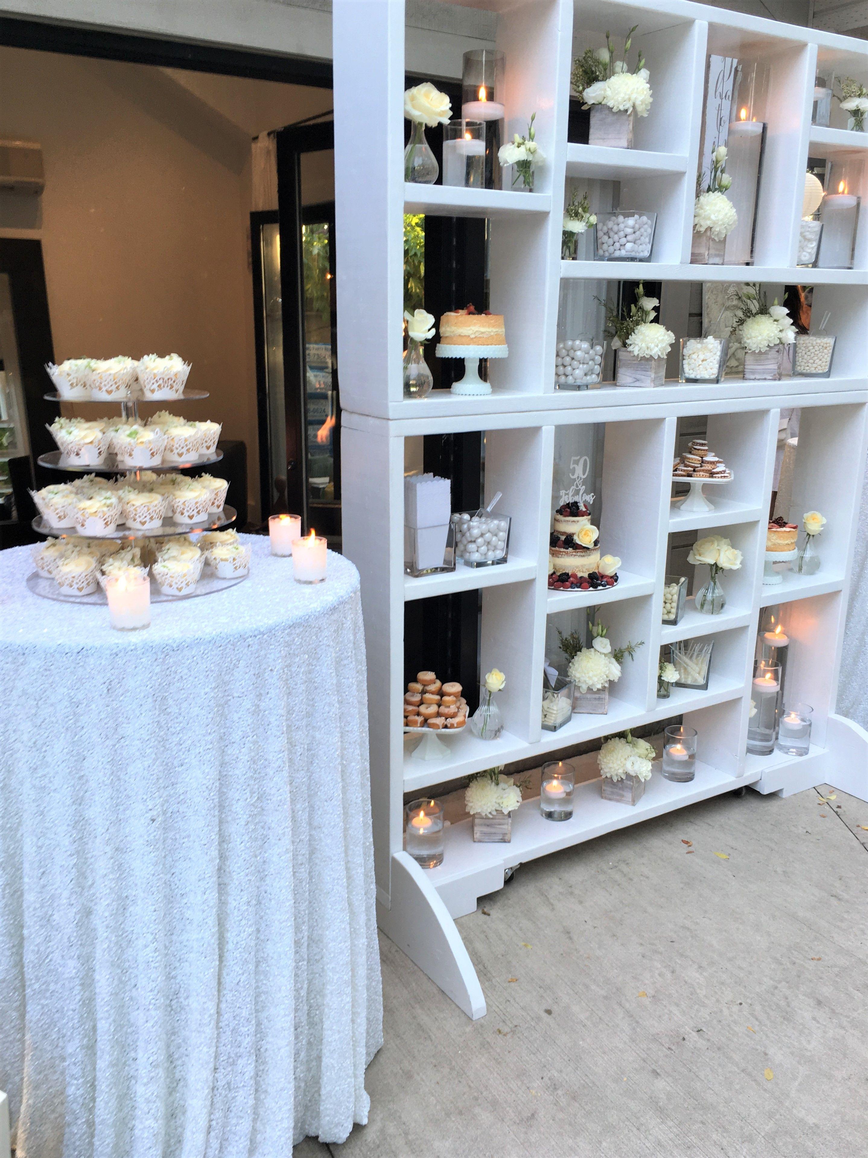 all white backyard birthday party toronto on planning design