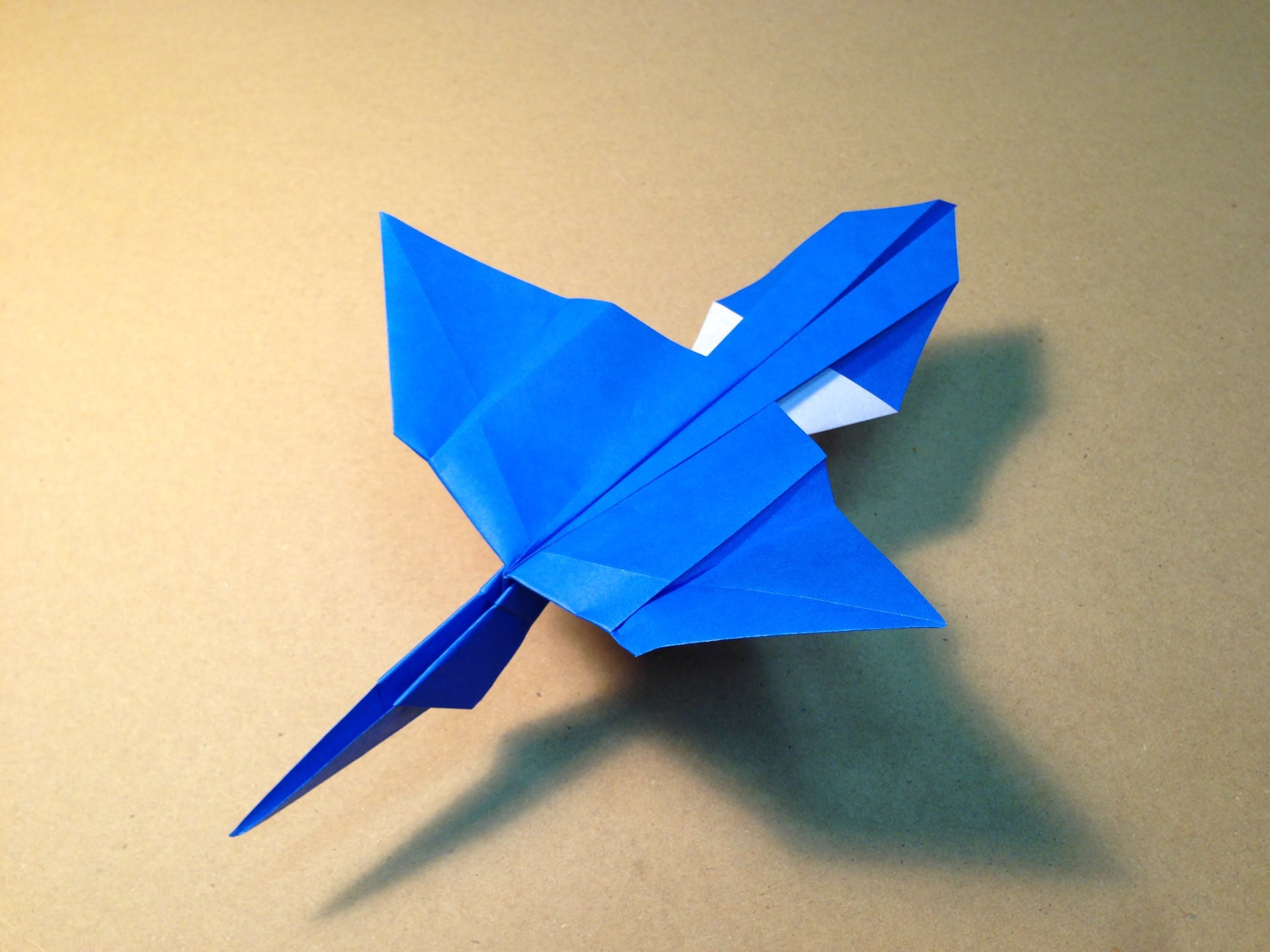 How to make an origami plane youtube video pinterest origami