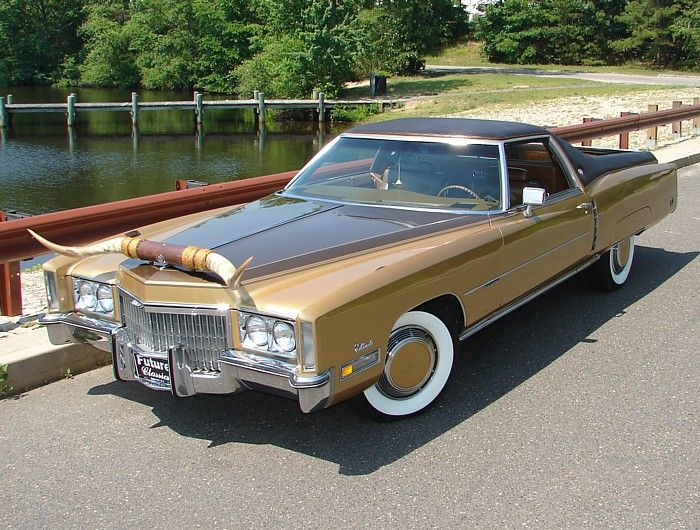 Custom Vehicle Horns : Cadillac eldorado pickup i almost had this one when