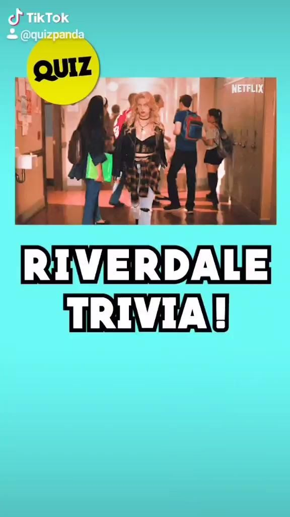 Video How Well Do You Know Riverdale 10 Second Quiz By Quiz Panda Film Netflix Program Tv
