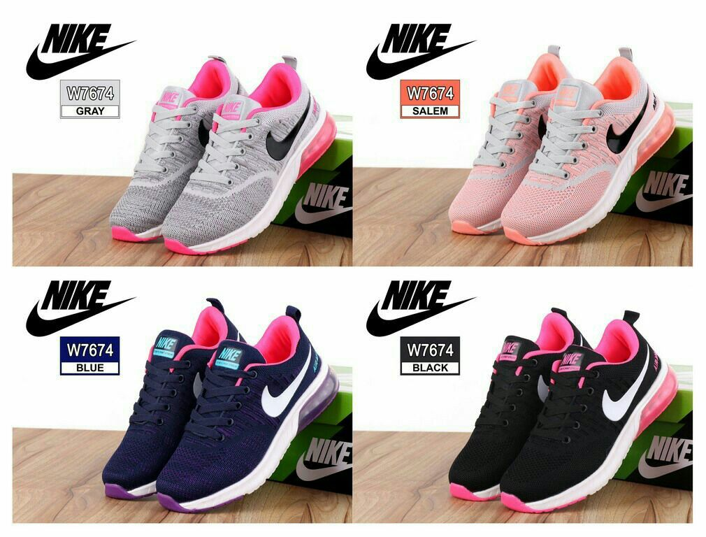 Sneaker Sport Shoes Nike W7674 Bahan Fabric Mesh Kualitas