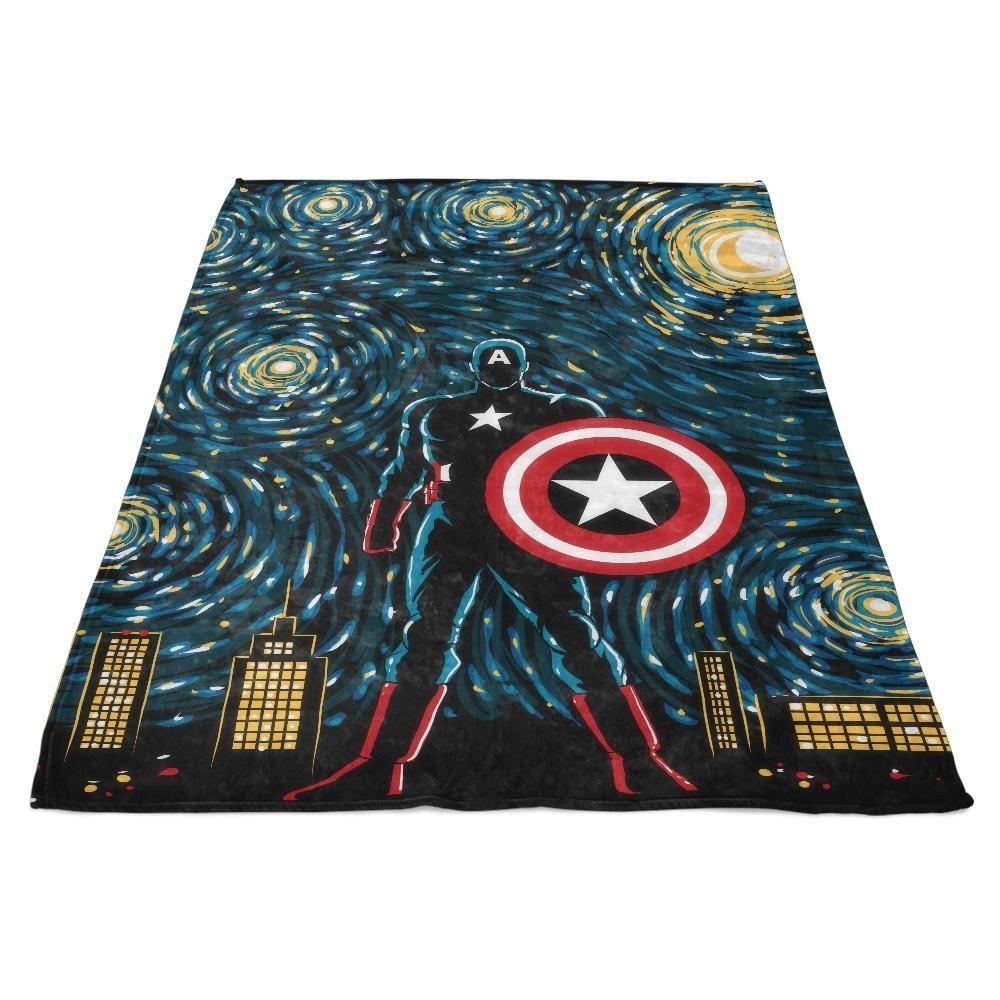 Starry Soldier - Fleece Blanket