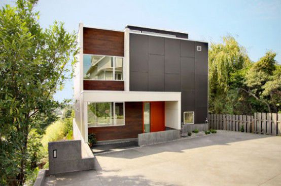 Pin By Kawal Singh On Home Sweet Home Backyard House Small Contemporary House Plans Contemporary House Plans