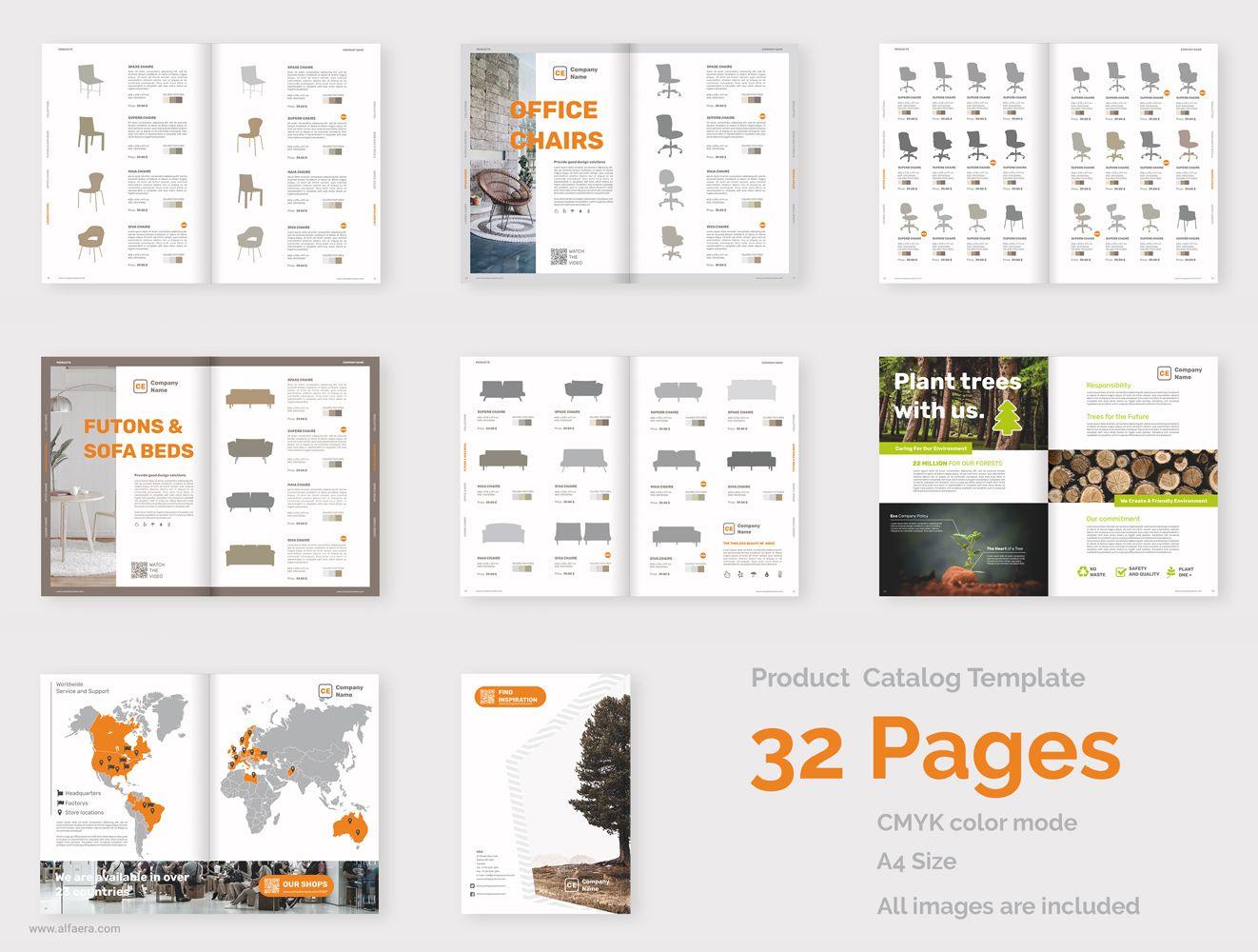 Product Catalog Brochure Template Coreldraw Alfaera Coreldraw Graphic Design Templates Brochure Template Product Catalog Template Graphic Design Templates Product catalogue templates free download