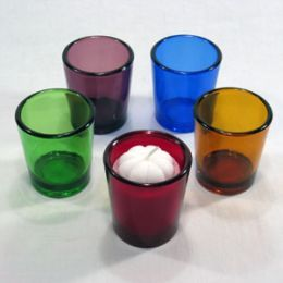 Remove Wax from a Glass Votive Candle holders - I like freezing the best.
