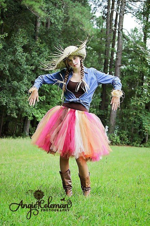 Adult Tutu Fall Tutu Scarecrow costume by