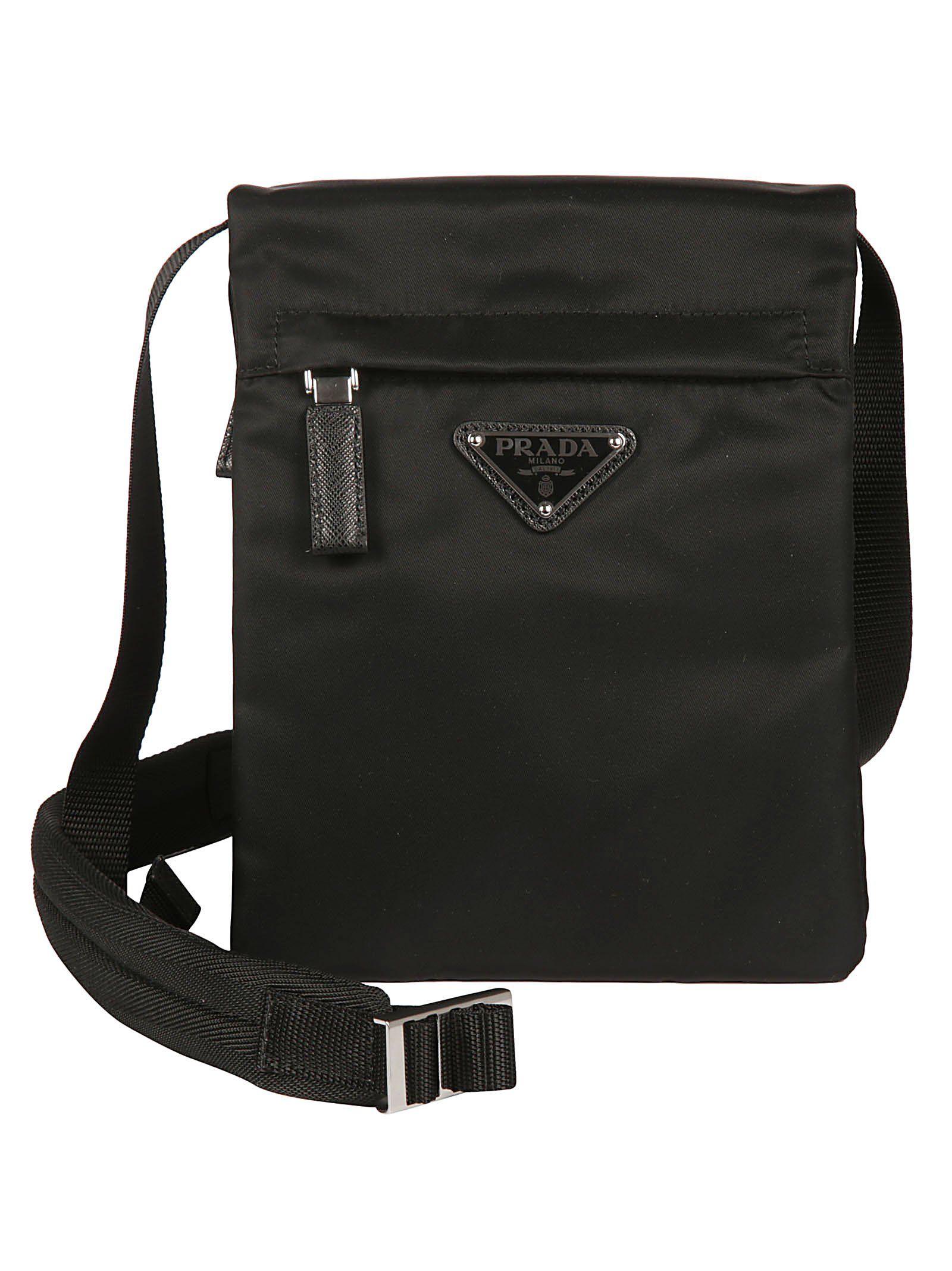 50cfb9895db9 PRADA PRADA LOGO PLAQUE ZIP SHOULDER BAG. #prada #bags #shoulder bags #nylon