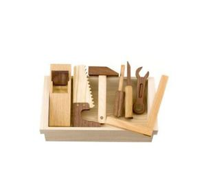Quality and Natural Wooden Toy Tool Set | materialicious
