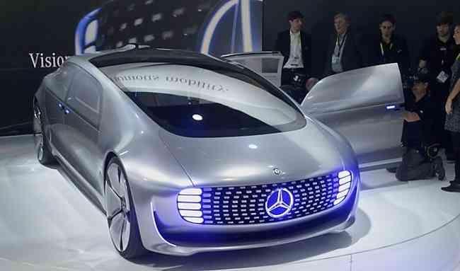Mercedes Benz F015 Fuel Cell Concept Car