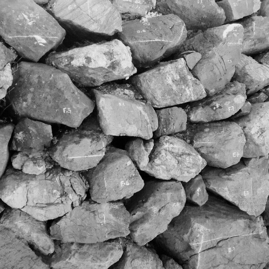 Piedras enumeradas, ruina inca, Peru