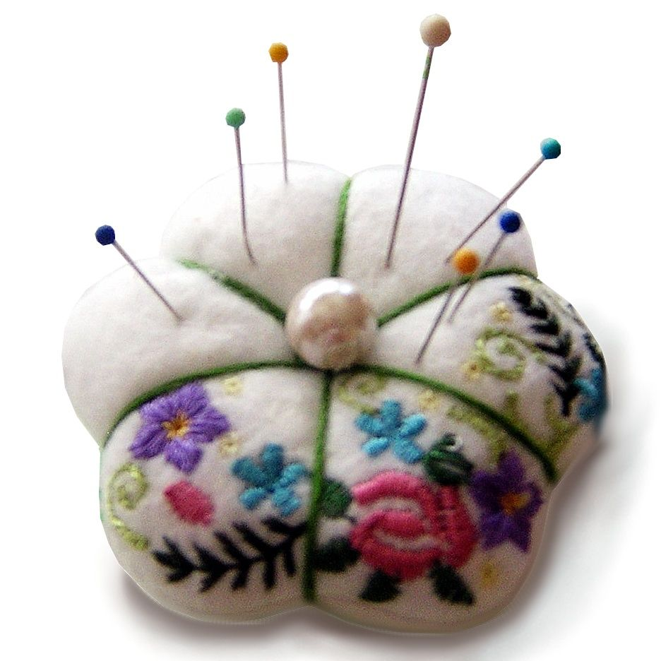 Needle Felted Pin Cushions