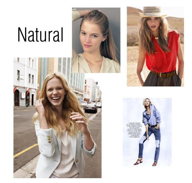 Find Your Fashion Personality Natural Style Style