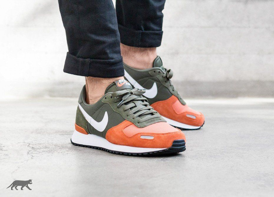 Nike Air Vortex (Medium Olive White Terra Orange Black