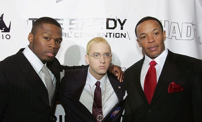 Dr Dre With Images Eminem Eminem Dr Dre The Eminem Show
