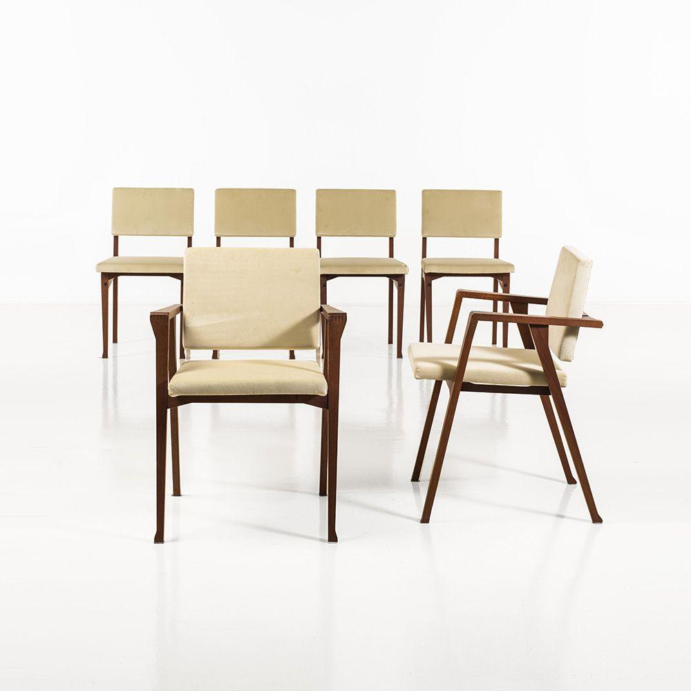 Franco Albini Luisella Sd9 Poggi Italy 1959 Dining Chairs Home Decor Furniture
