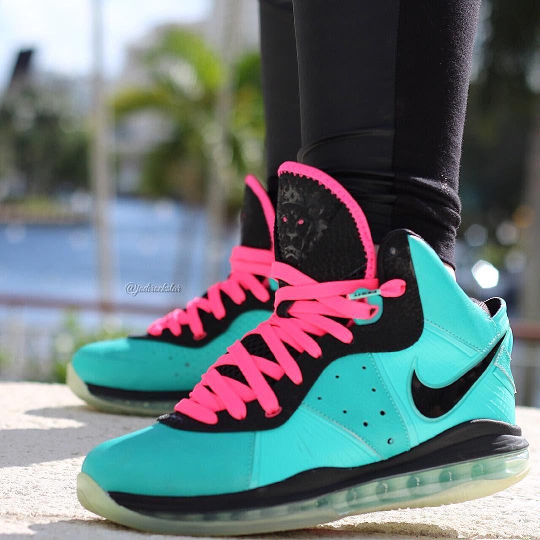 "Nike LeBron 8 ""South Beach"" Nike, Sneakers nike, Sneakers"