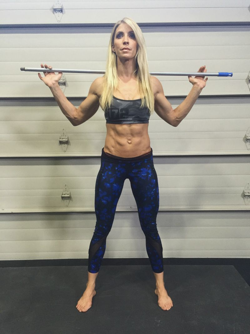 Heidi Powell Has The Best Advice For Getting Rid Of Your Tummy Pooch Full Body Workouts On Pinterest Melissa Bender Circuit And C Section Solutions How To Eliminate Reduce Shelf