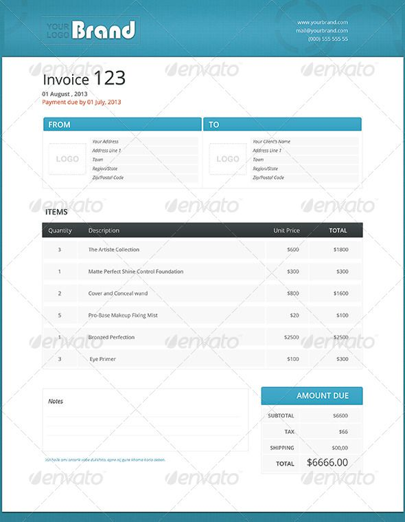 Invoice Template 1 Template Business Proposal And Proposal Templates