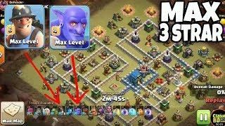 Max Miner With Max Bolwer Strategy 3 Star War Attack Th12 Max