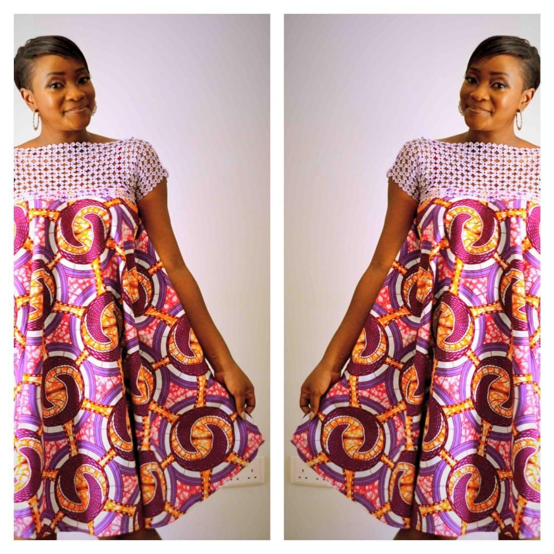 a64bb1845ba Robe Femme Enceinte · Tenue Africaine · Robes Tendance Pour Femme · See  this Instagram photo by  lapizulidesigns  u2022 32 likes ...
