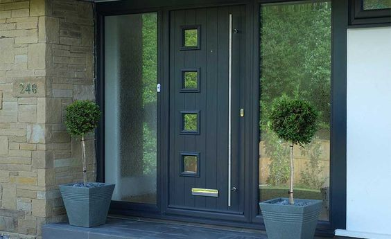 Image Result For Composite Front Door With Large Glass