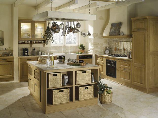 Cuisine pierre et bois | ♡ CUISINE | Pinterest | Kitchens ...