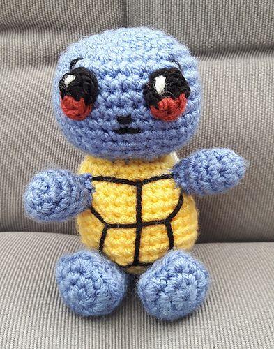 Ravelry: Pokemon: Pikachu pattern by i crochet things | 500x393