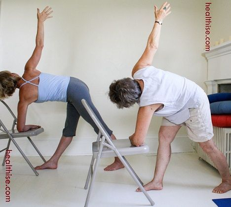 benefits of chair yoga  chair yoga yoga for seniors