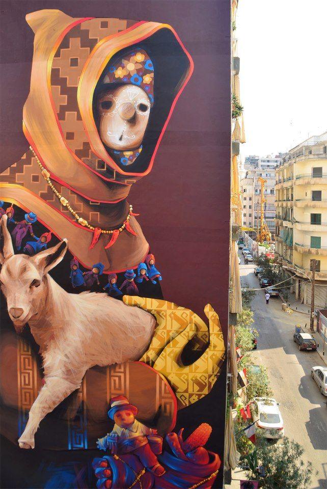 Graffiti Del Mundo Inti El Chileno Que Conquista El Mundo Con Sus Obras