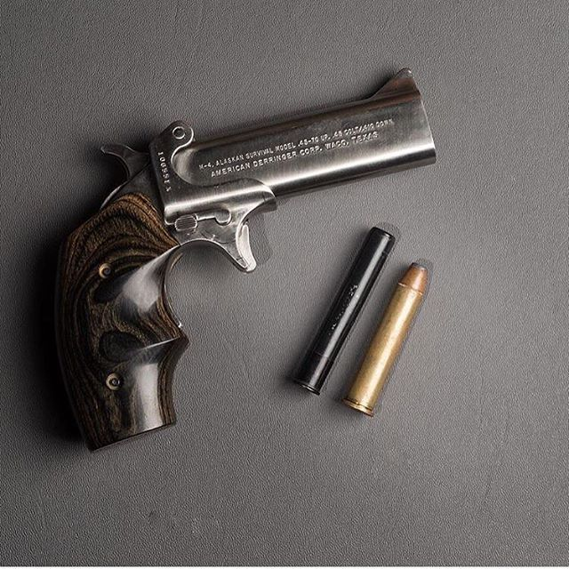Small Gun, Big Caliber .45-70 Derringer @jawbone_media ...