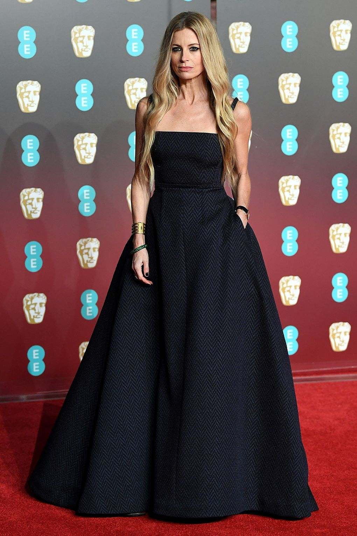 Pregnant wedding dress fail  BAFTAs  Red Carpet Dresses  Laura bailey Baileys and Red carpet