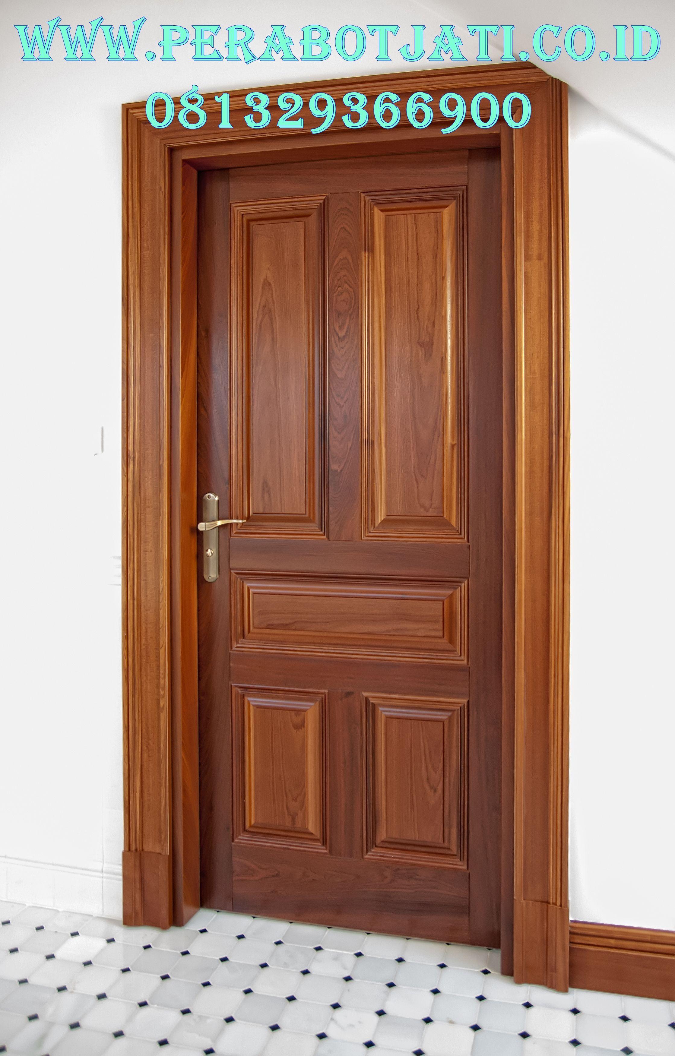 Pintu Kamar Kayu Jati Minimalis Terbaru Kayu Kayu Jati Pintu Gambar daun pintu