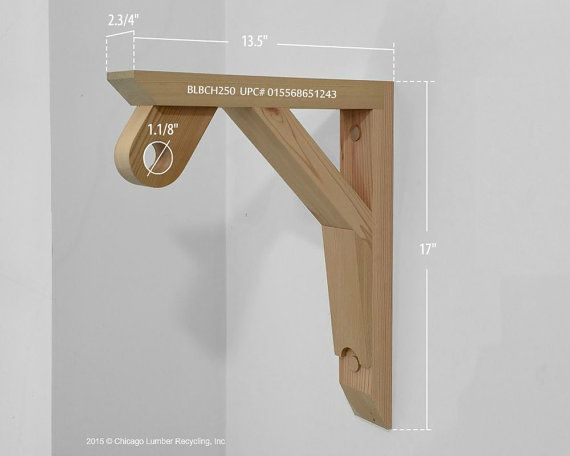 Single Shelf Support Bracket With A Closet Rod Setting Attached A Unique Wardrobe Rack Hardware Blbch250 Wooden Closet Coat Rack Shelf Closet Rod