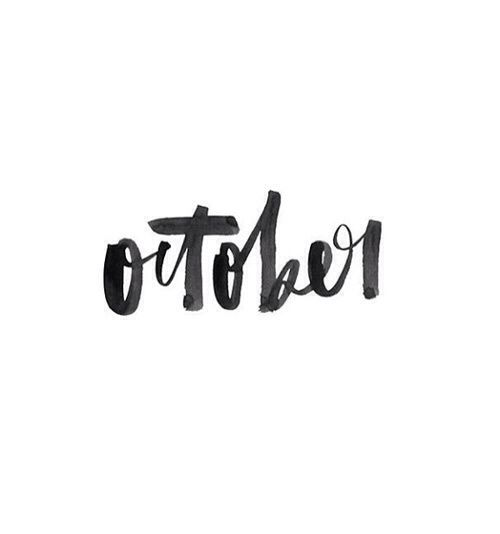 #october's here!
