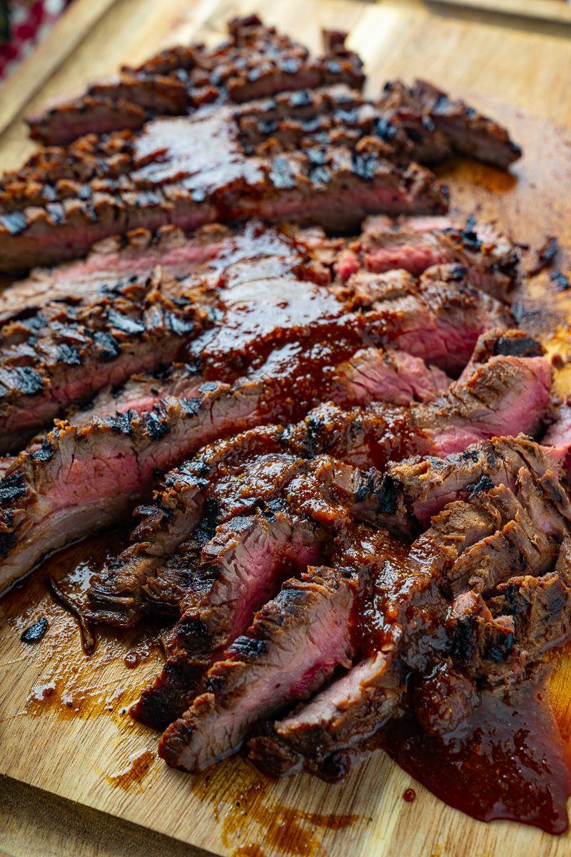 Korean Style Grilled Flank Steak Recipe In 2020 Beef Steak Recipes Recipes Flank Steak