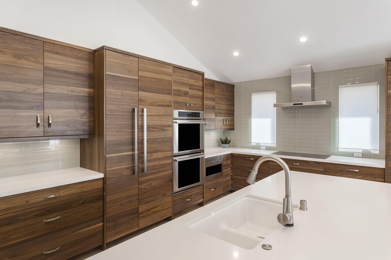 Modern Kitchen Cabinets Taurus Dewils Custom Cabinetry In 2020 Modern Kitchen Cabinets Modern Walnut Kitchen Kitchen Cabinets