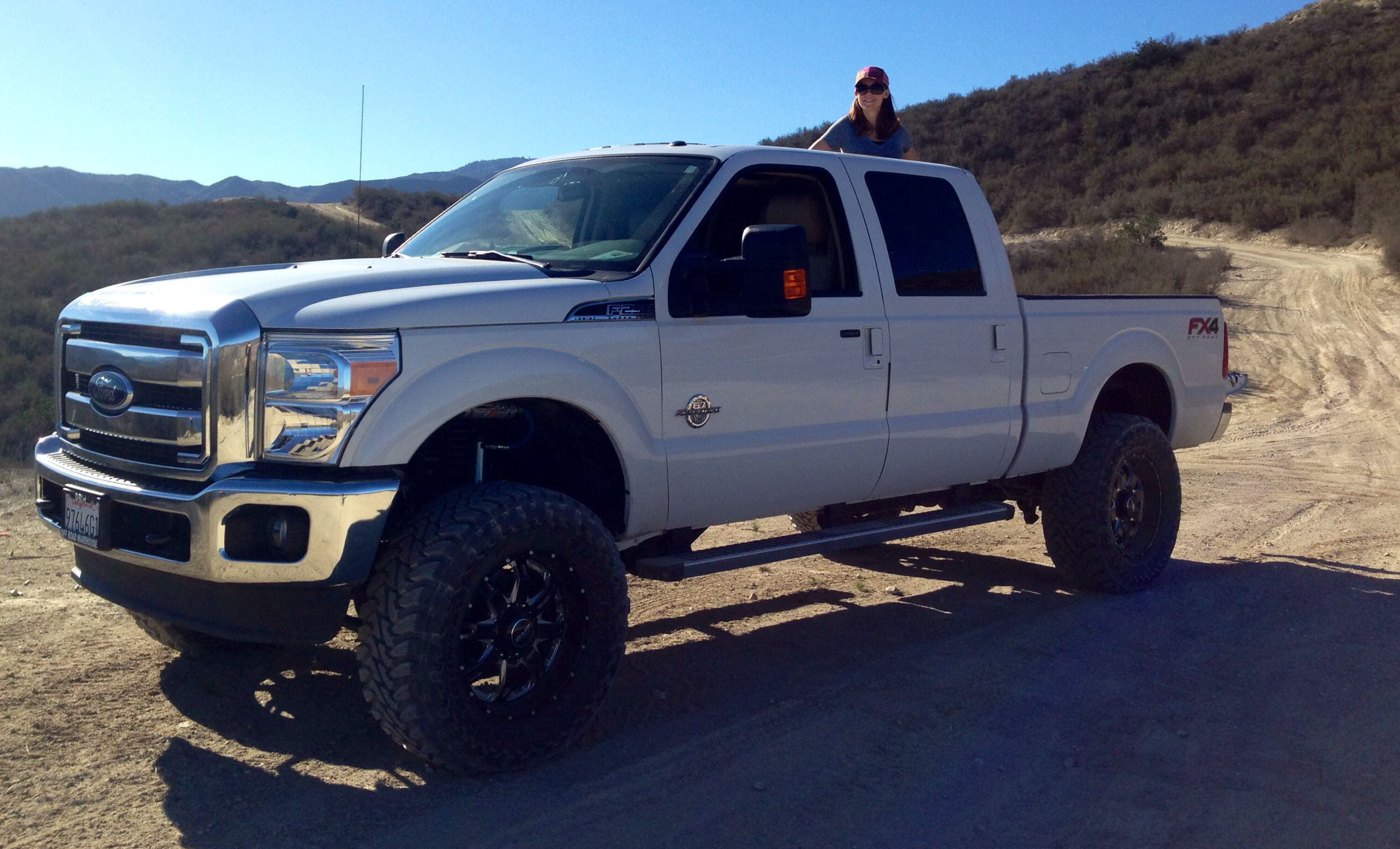 "Ford F250 w/ Carli Performance suspension, 37"" Toyo Tires"