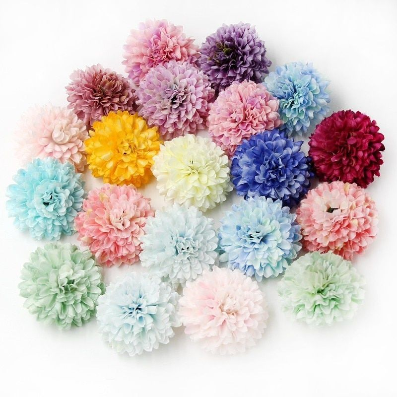 Us 2 63 15 Off 20pcs Can Mix Color Silk Carnation Artificial Flower Head For Home Wedding Party Decoration Diy Gift Scrapbooking Craft Flowers Head Strap Head Wedding Party Decorations Diy Flower Crafts Scrapbook Crafts