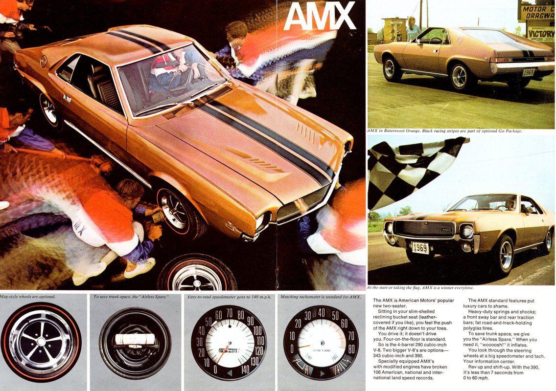 69 Javelin Amx Brochure | Old Car Brochures | Pinterest | Road Runner And  Cars
