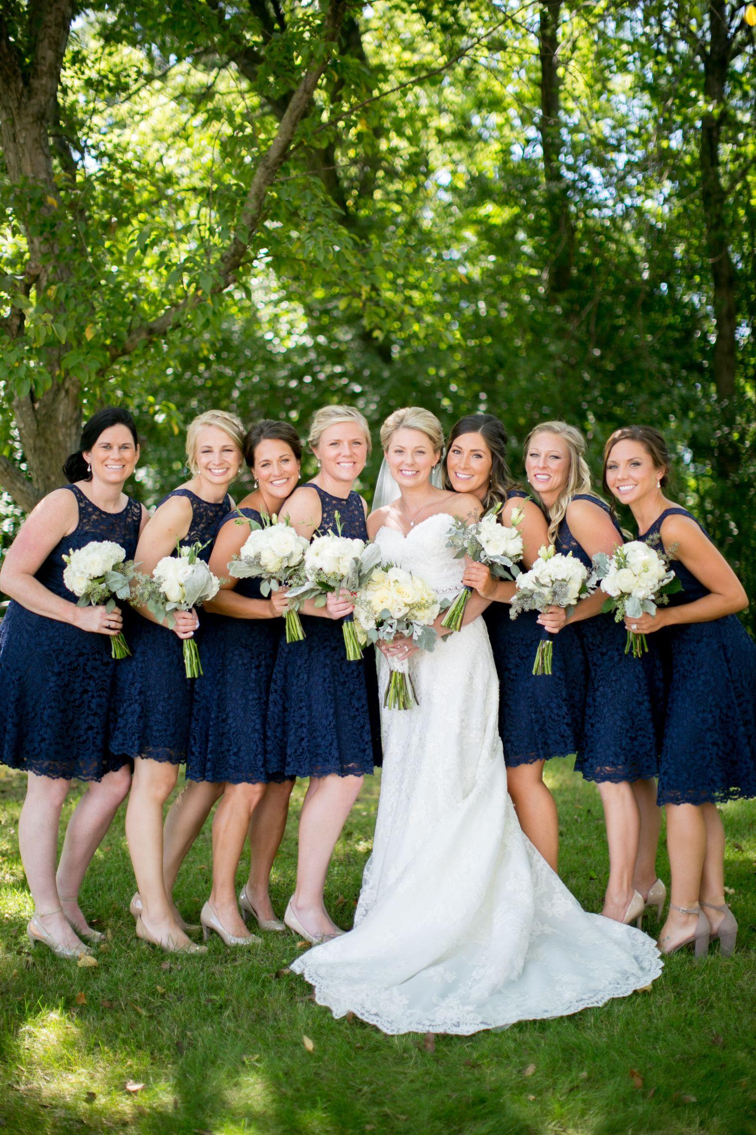Dbmaids In Navy Blue Bridesmaid Dresses Short Lace Bridesmaid Navy Blue Bridesmaid Dresses Short Blue Bridesmaid Dresses Short Short Lace Bridesmaid Dresses