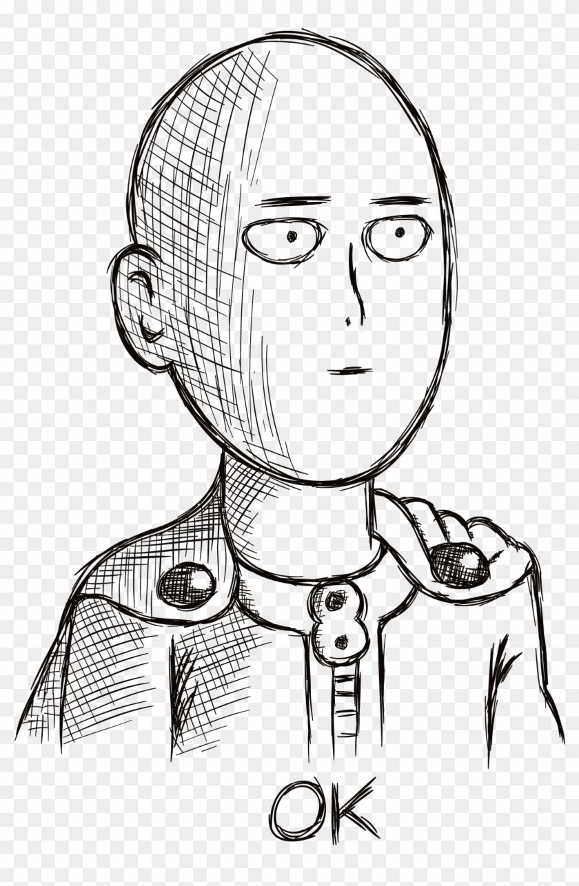 Saitama Ok Face Png Anime Stickers Whatsapp Transparent Png Is Best Quality And High Resolution Which C Cute Anime Wallpaper Anime Stickers Anime Wallpaper