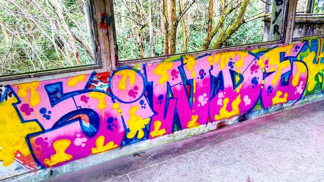 Sinde Cergy Cergypontoise Street Streetart Paint Bombe