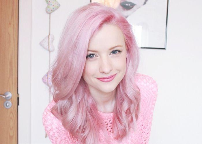 1001 photos impressionnantes de cheveux rose fonc ou pastel coiffures pinterest longues. Black Bedroom Furniture Sets. Home Design Ideas