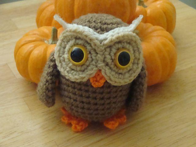 Owl Amigurumi - Free Crochet Pattern - StringyDingDing | 480x640