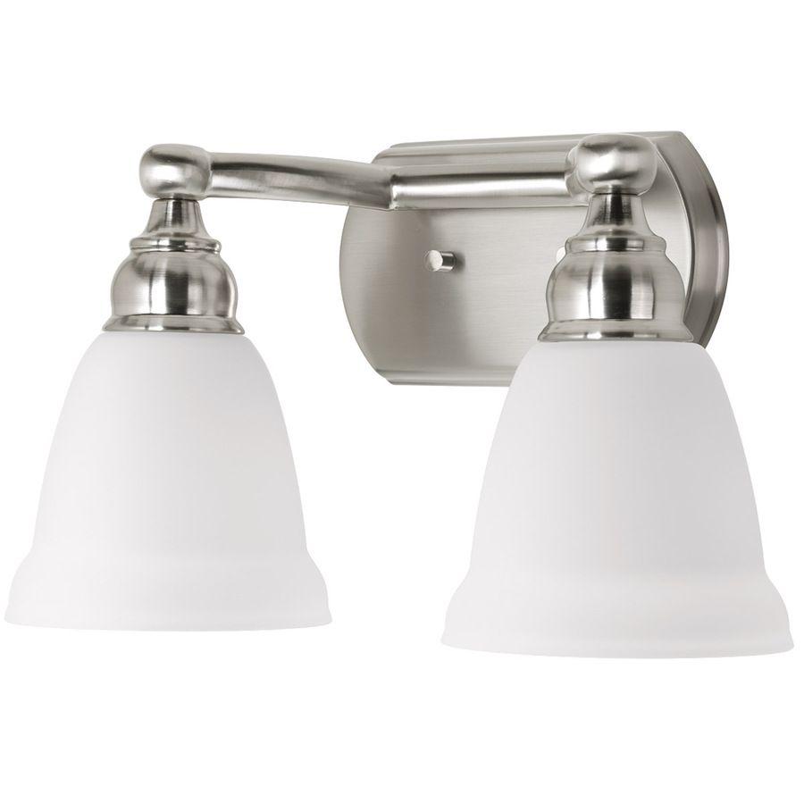 Delta 2 Light Windemere Brushed Nickel Bathroom Vanity