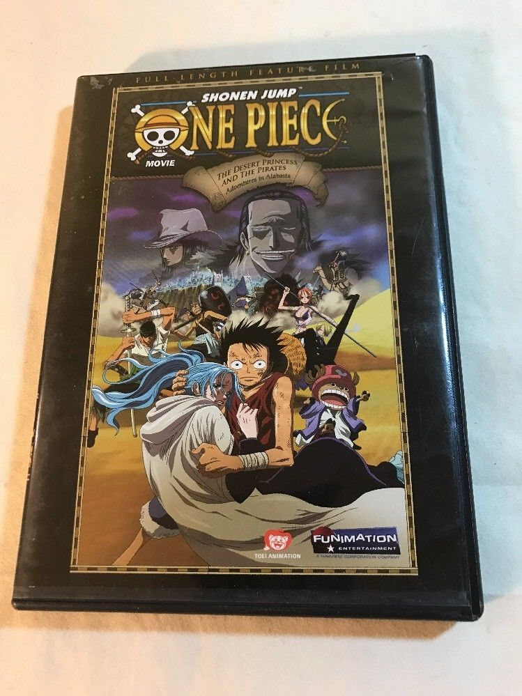 One Piece The Movie Desert Princess And The Pirates Adventures In Alabasta One Piece Movies The Pirate King Monkey D Luffy