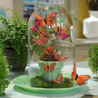 Bfly Centerpiece by MS