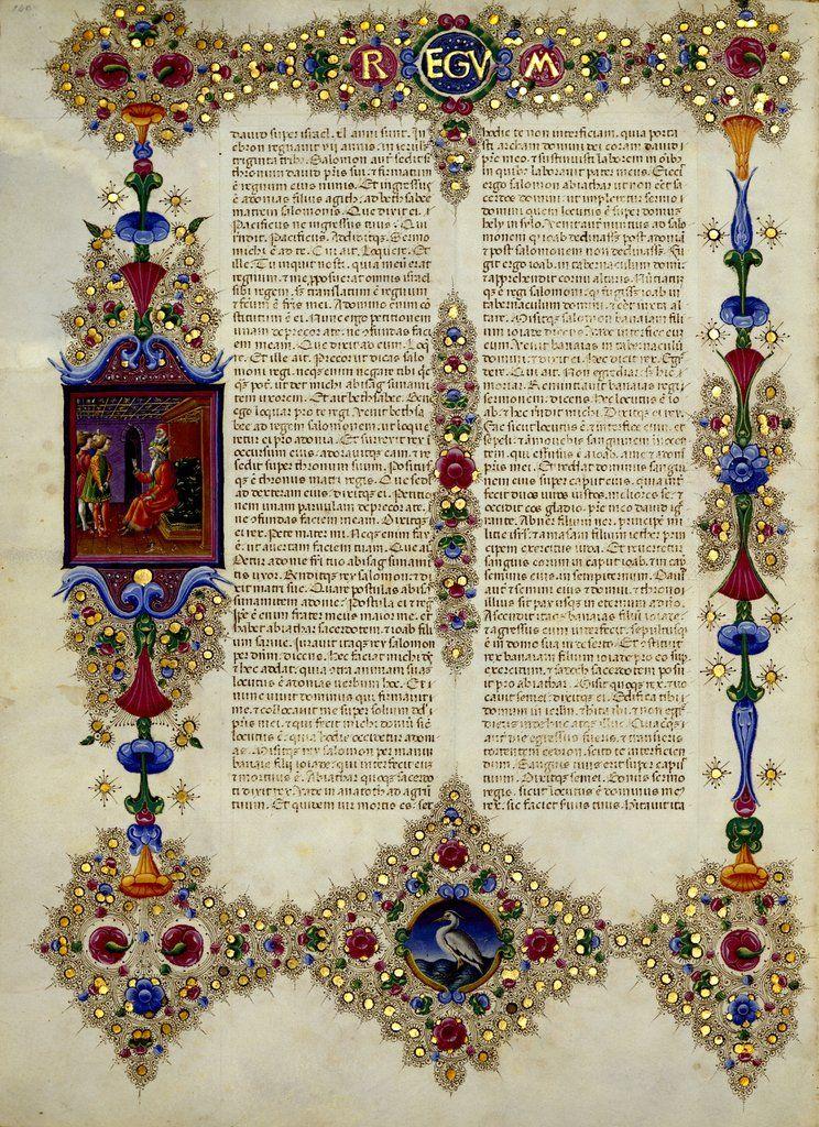 Bible Of Borso D U2019este
